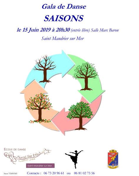 Gala de fin d'année de l'école de danse Presqu'une étoile à Saint-Mandrier-sur-Mer - 0