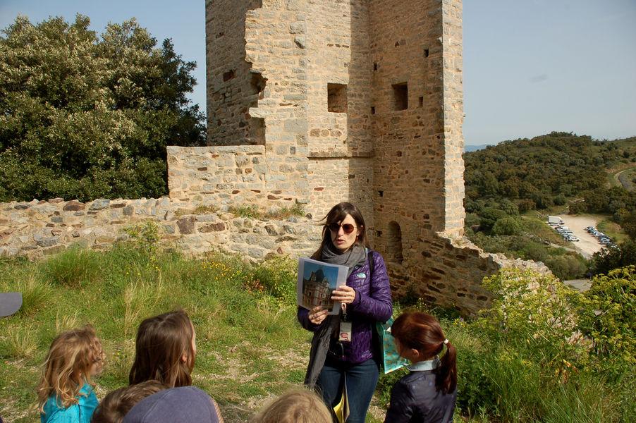 Enquête au château (visite guidée spécial enfants) à Hyères - 2