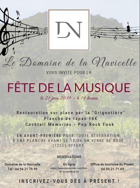 Fête de la musique au domaine de la Navicelle à Le Pradet - 1