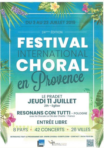Festival International Choral en Provence à Le Pradet - 0