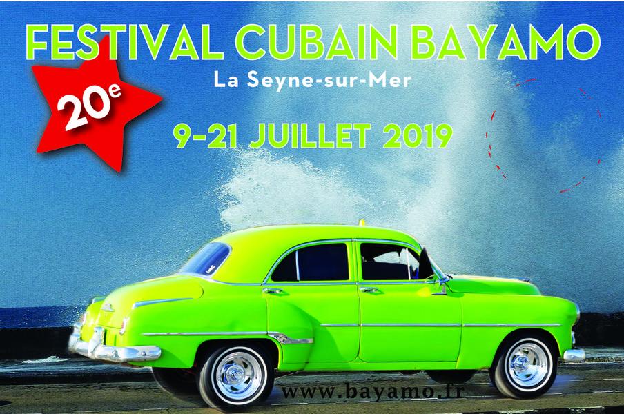 Festival cubain Bayamo : exposition de peintures d'Aconcha «Cuba y los orishas» à La Seyne-sur-Mer - 0
