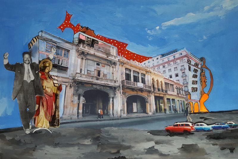 Festival cubain Bayamo : exposition de peintures d'Aconcha «Cuba y los orishas» à La Seyne-sur-Mer - 1