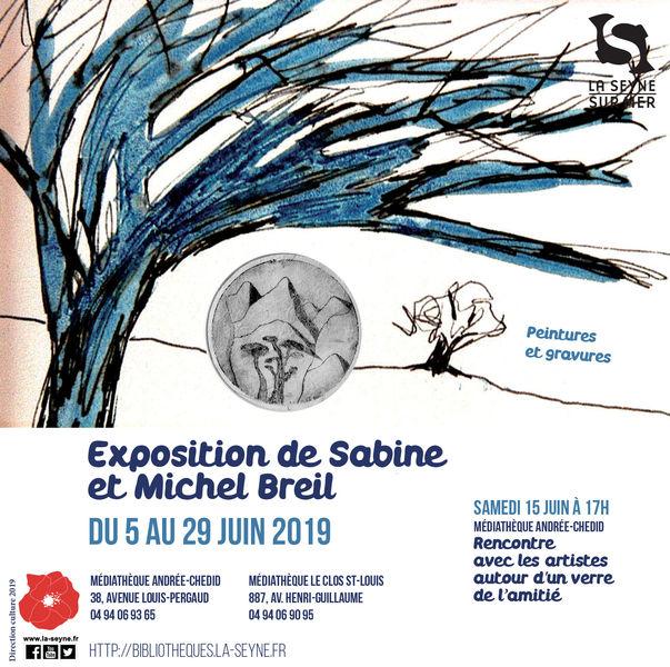 Exposition de Sabine et Michel Breil à La Seyne-sur-Mer - 0