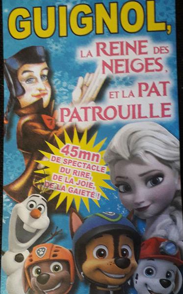 Spectacle de marionnettes : Guignol, la Reine des Neiges et la Pat'Patrouille à La Seyne-sur-Mer - 0