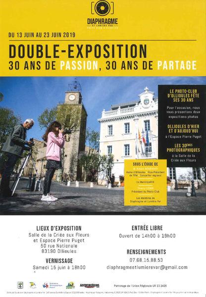 Exposition «Ollioules d'hier et d'aujourd'hui» du club photo Diaphragme et Lumière Var à Ollioules - 0