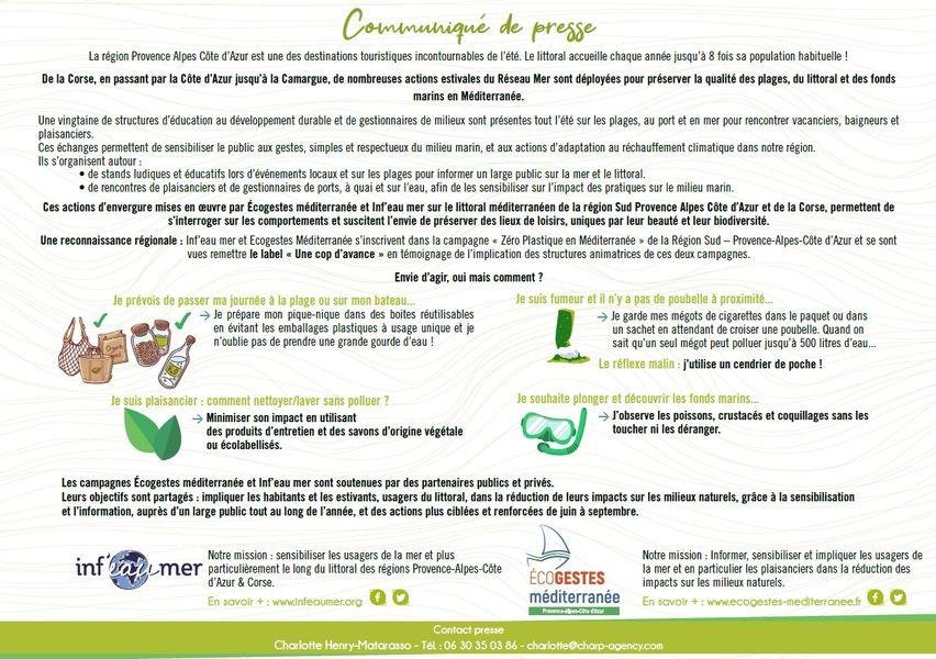 Campagnes inf eau et Eco gestes à Le Pradet - 5