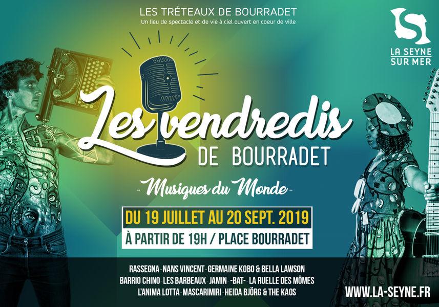 Les Vendredis de Bourradet «L'Anima Lotta» (folk musique du monde) à La Seyne-sur-Mer - 0