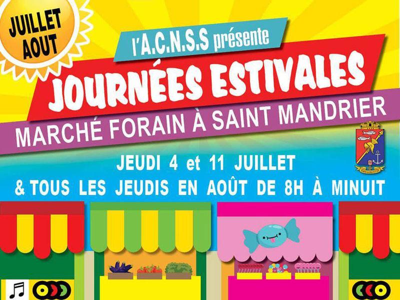 Journées estivales : marché forain à Saint-Mandrier-sur-Mer - 0