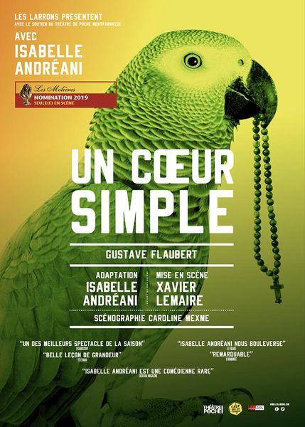 Théâtre – Un cœur simple à Toulon - 0