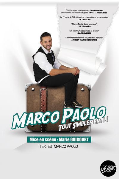 Spectacle – Marco Paolo / Tout simplement à Toulon - 0