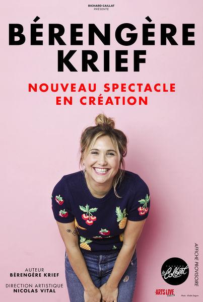 Spectacle – Bérengère Krief à Toulon - 0