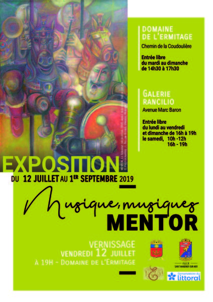 Exposition «Musique, musiques» de Mentor à Saint-Mandrier-sur-Mer - 0