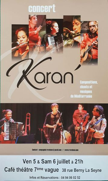 Musique à l'affiche avec Karan à La Seyne-sur-Mer - 0