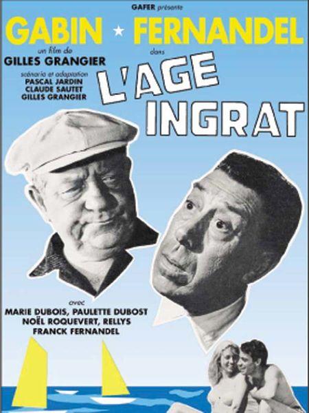 Festival de cinéma «L'Âge ingrat» de Gilles Grangier à Saint-Mandrier-sur-Mer - 0