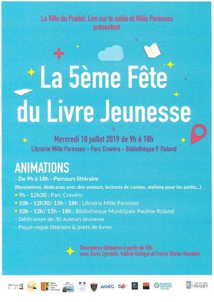 Fête du livre Jeunesse / rencontre littéraire à Le Pradet - 2