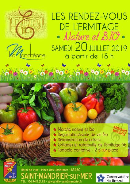 Les rendez-vous de l'Ermitage : nature & bio à Saint-Mandrier-sur-Mer - 0