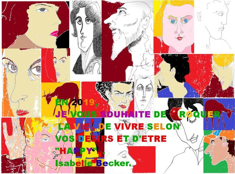 Artistes à découvrir / Isabelle Becker à Toulon - 0