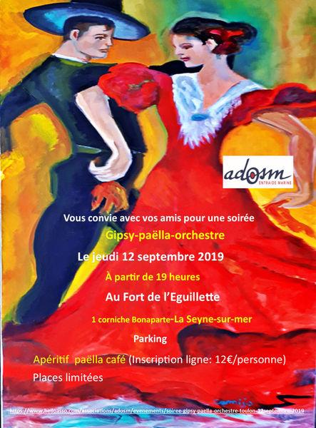 Soirée Gipsy, paëlla et orchestre à La Seyne-sur-Mer - 0