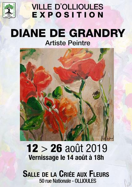 Exposition de Diane de Grandry, artiste peintre à Ollioules - 0