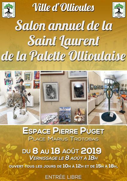 Salon annuel de la Saint Laurent de la Palette Ollioulaise à Ollioules - 0