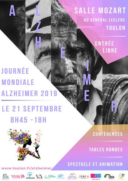 Journée mondiale Alzheimer à Toulon - 1