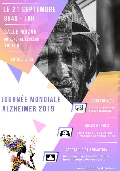 Journée mondiale Alzheimer à Toulon - 2