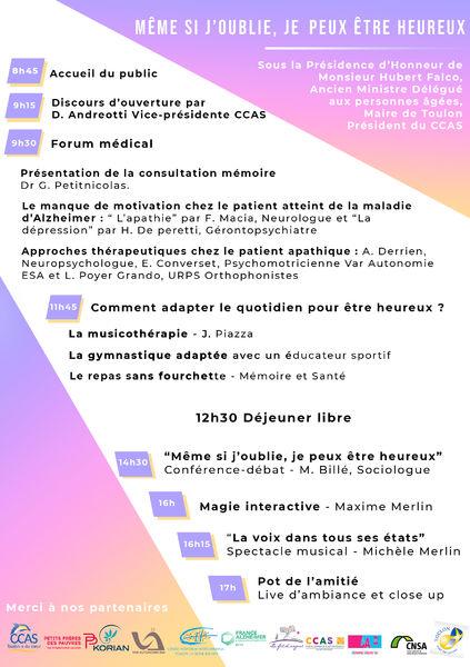 Journée mondiale Alzheimer à Toulon - 3
