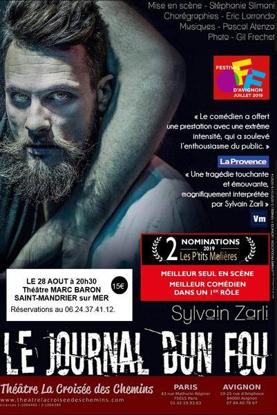 Théâtre «Le journal d'un fou» de Nicolaï Gogol à Saint-Mandrier-sur-Mer - 0