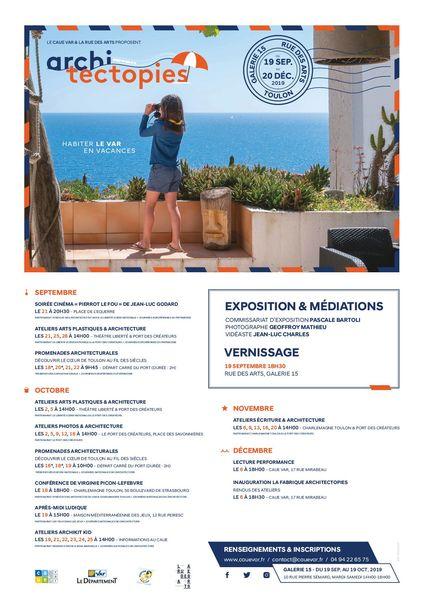 Exposition – Architectopies, habiter le Var en vacances à Toulon - 0
