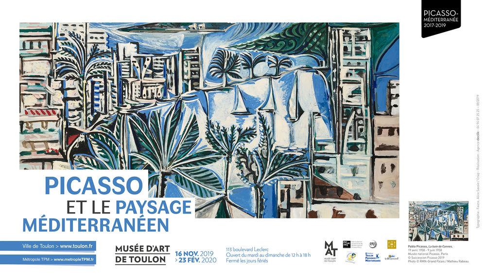 Exposition – Picasso et le paysage Méditerranéen à Toulon - 0