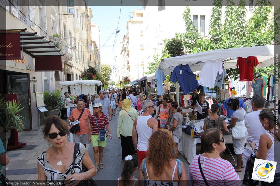 Braderie d'été du centre-ville à Toulon - 1