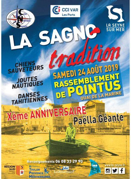 Rassemblement de pointus : La Sagno Tradition à La Seyne-sur-Mer - 0