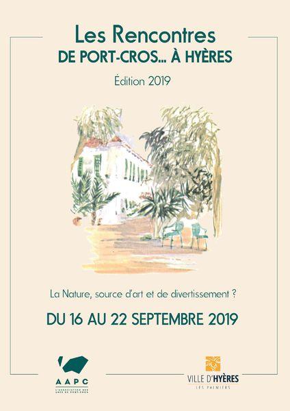 Les rencontres littéraires de Port-Cros…à Hyères à Hyères - 0