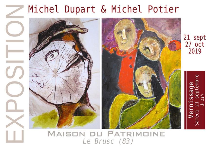 Exposition de Michel Potier et Michel Dupart à Six-Fours-les-Plages - 0