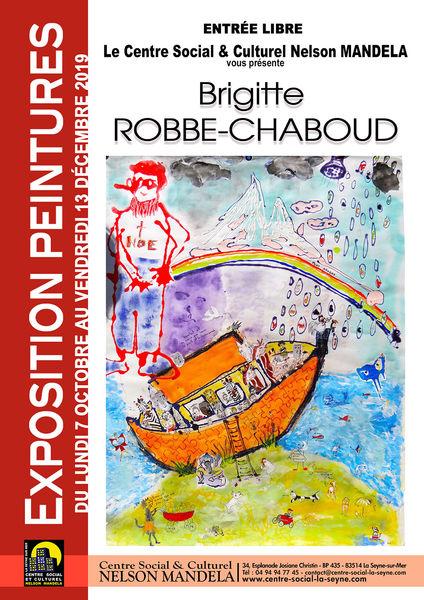 Exposition de peintures de Brigitte Robbe-Chaboud à La Seyne-sur-Mer - 0