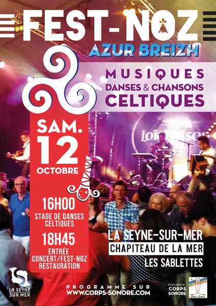Grand Fest-Noz (Musiques danses et chants celtiques) à La Seyne-sur-Mer - 0