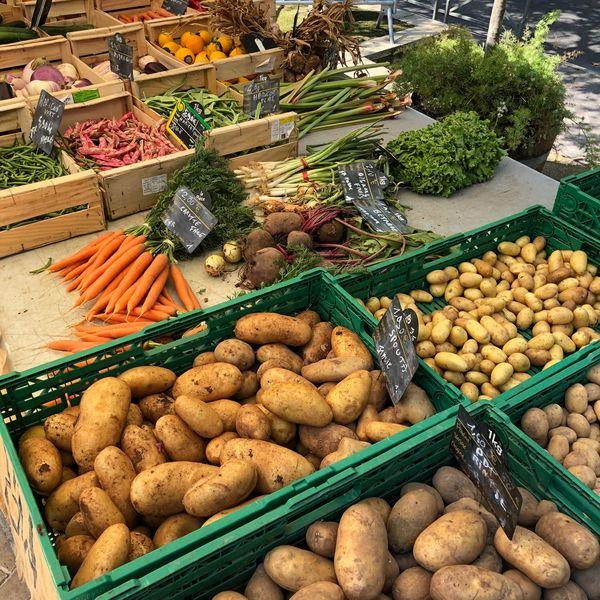 Le petit marché de la Moutonne du samedi matin à La Crau - 3