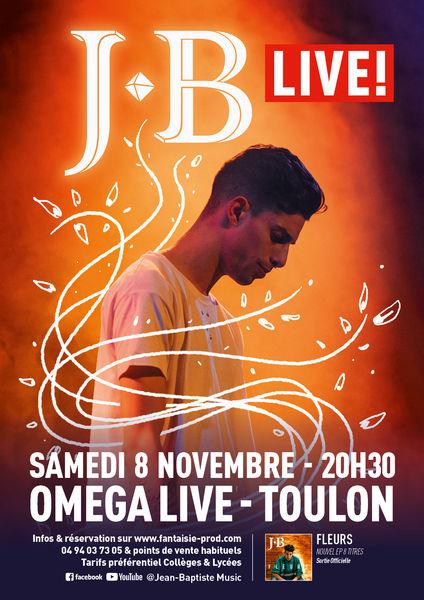 Concert – Jean-Baptiste « Live » à Toulon - 0