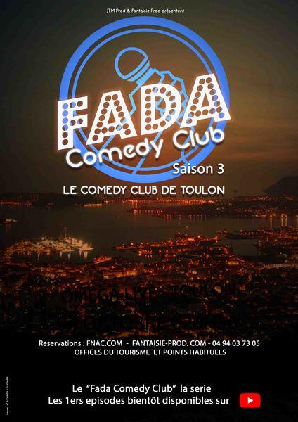 Spectacle – Fada Comedy Club Saison 3 à Toulon - 0