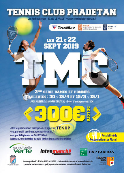 Tournoi Tennis à Le Pradet - 0