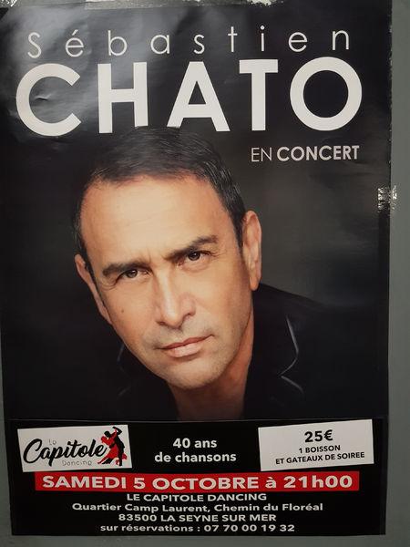 Sébastien Chato en concert à La Seyne-sur-Mer - 0