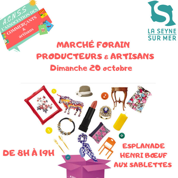 Marché des producteurs et artisans à La Seyne-sur-Mer - 0