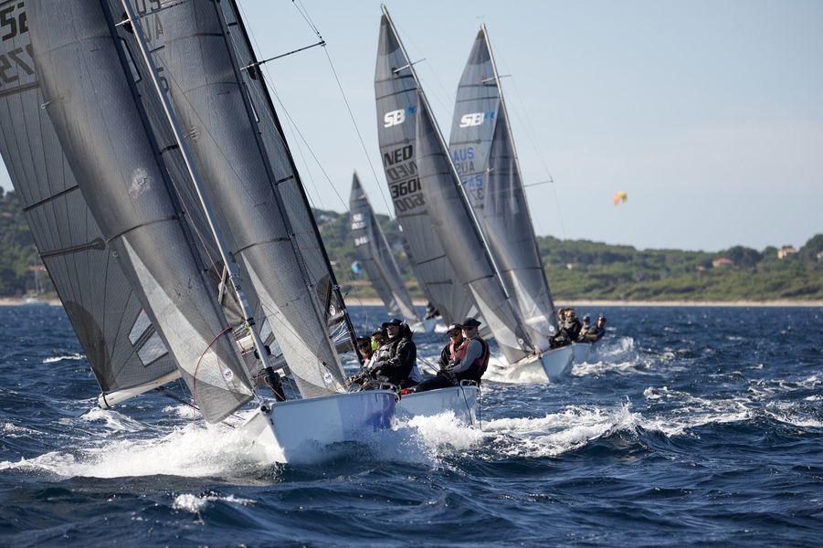 Championnat du monde SB20 à Hyères - 5