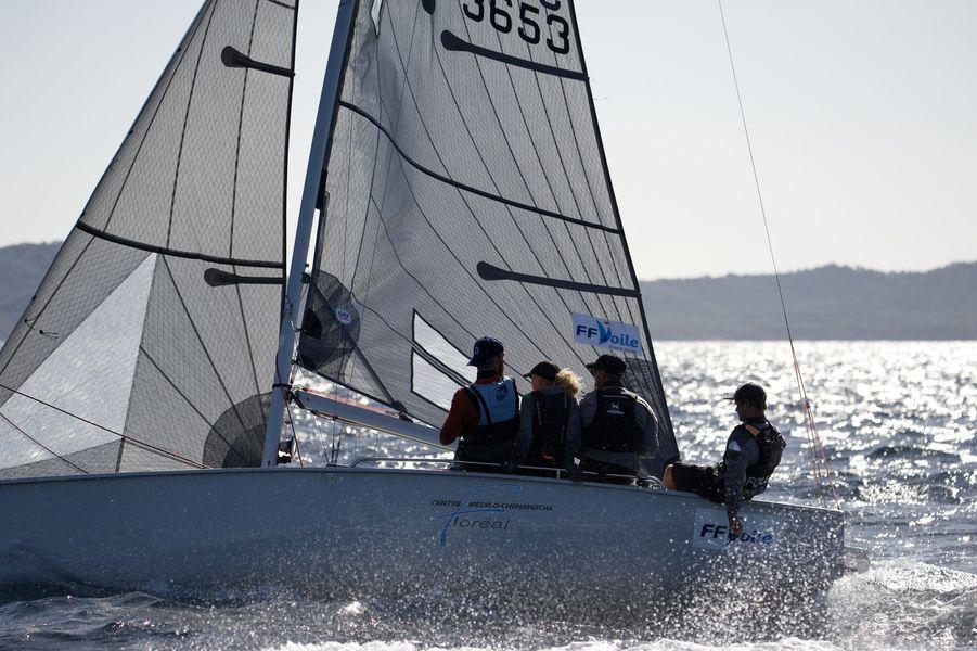Championnat du monde SB20 à Hyères - 9