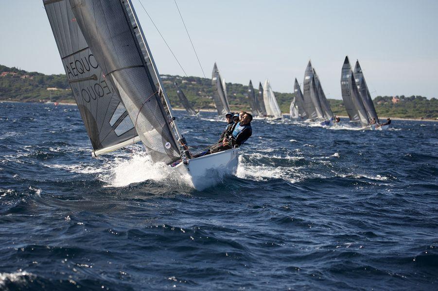 Championnat du monde SB20 à Hyères - 12