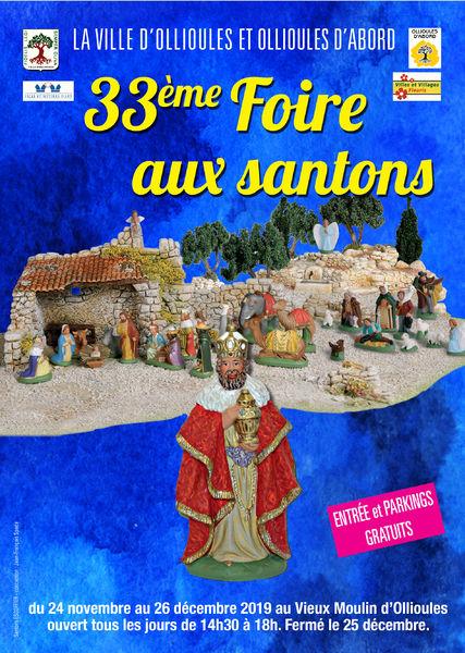 33e foire aux santons à Ollioules - 0