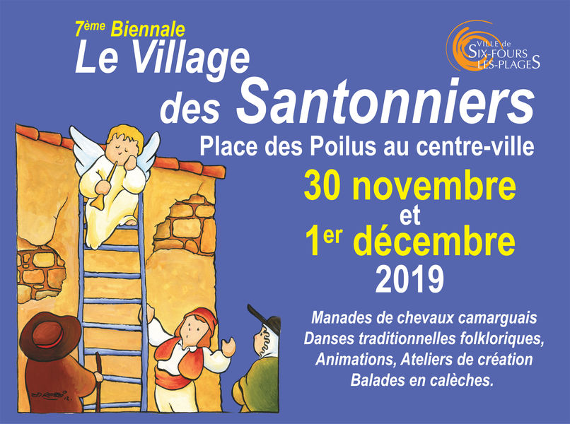 7è biennale : le village des santonniers à Six-Fours-les-Plages - 0