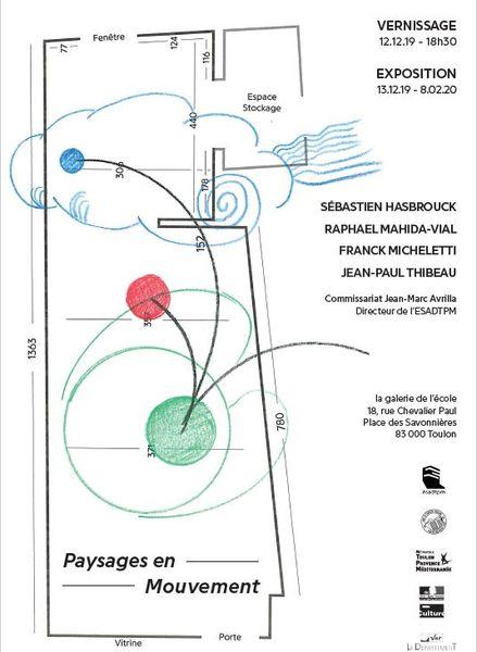 Exposition – Paysages en Mouvement à Toulon - 0