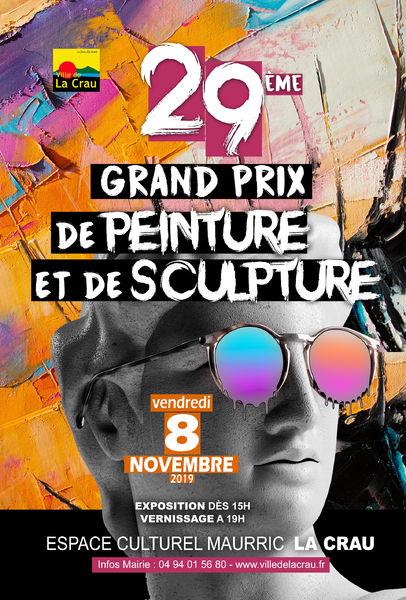 Grand prix de peinture et de sculpture de la Ville de La Crau à La Crau - 0