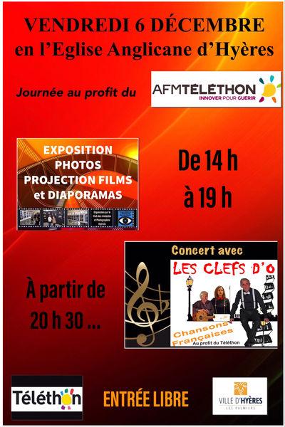 Exposition photos et concert «au profit du Téléthon» à Hyères - 0